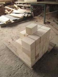 pallet wood cut 4 pedestal